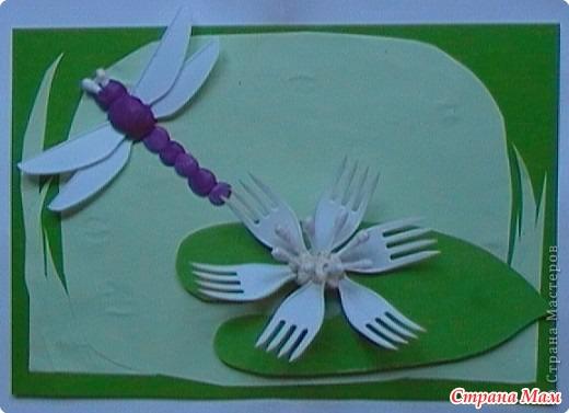 пластиковой посуды, палочек от