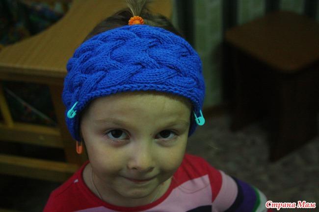 Шапка шлем по мотивам работ Иры Роминой