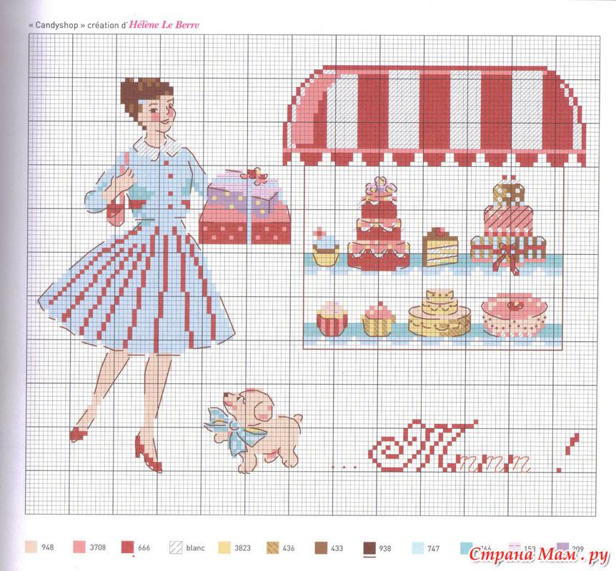 Французские дизайны вышивка схемы
