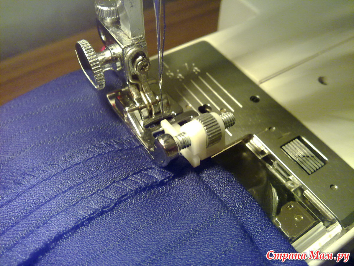 Как на швейной машине сделать потайной шов