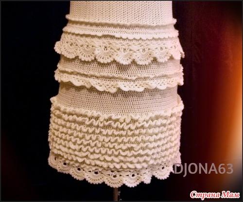 Вязание платья по мотивам ванессы монторо мк 40
