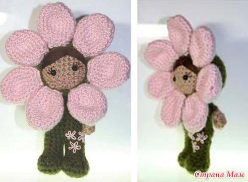 Куколка-цветочек Фэйс