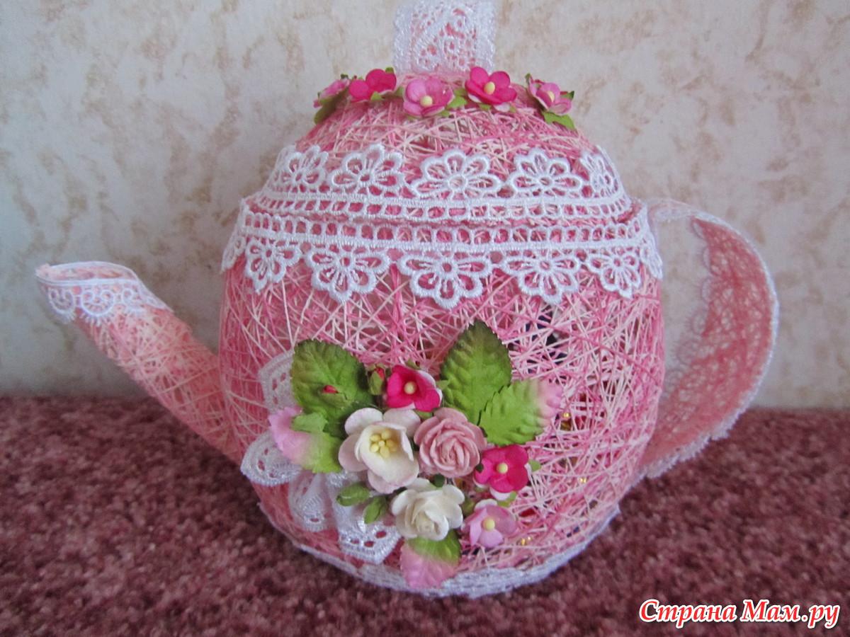 Поделки из чайника своими руками