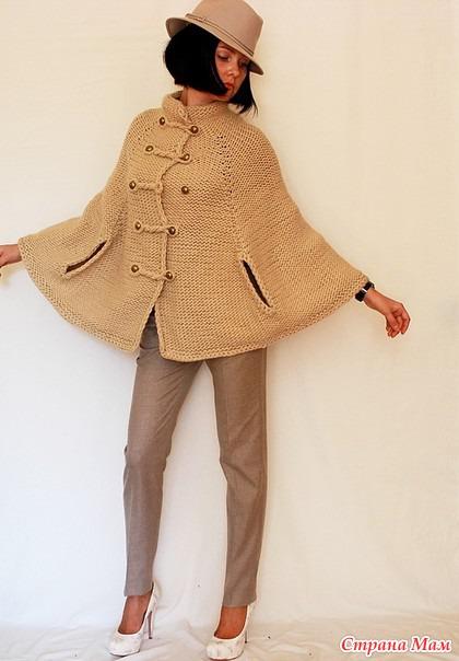 Как связать пальто своими руками
