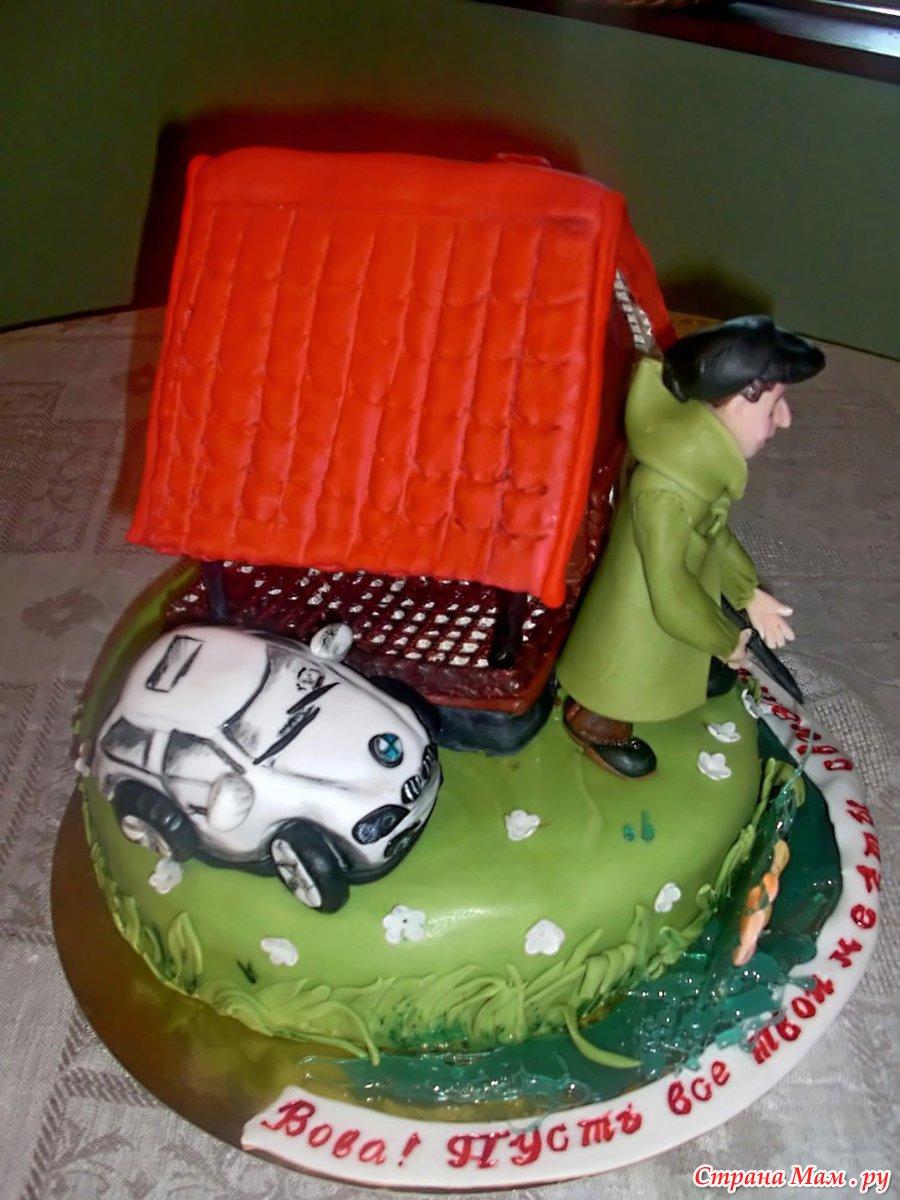 Торт в подарок мужу из как сделать