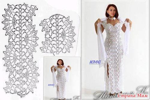 Античное платье