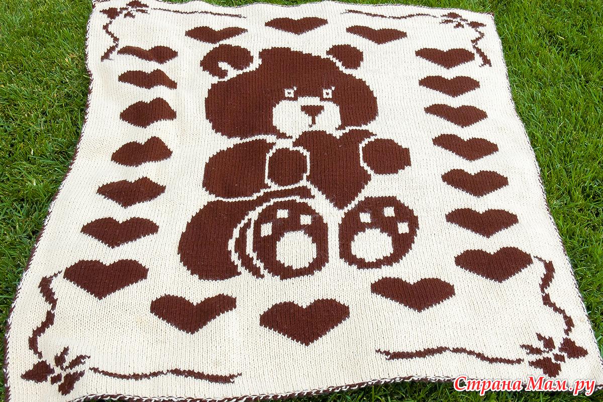 双面提花婴儿毛毯 - maomao - 我随心动