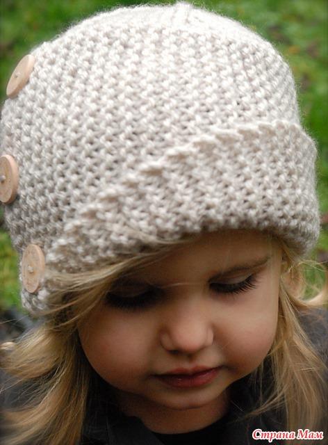 Стильные шапочки на осень