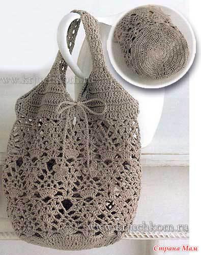 Схемы вязания сумочки из