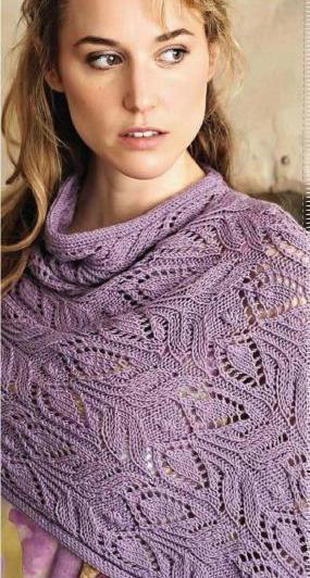 шали, шарфа или пуловера.