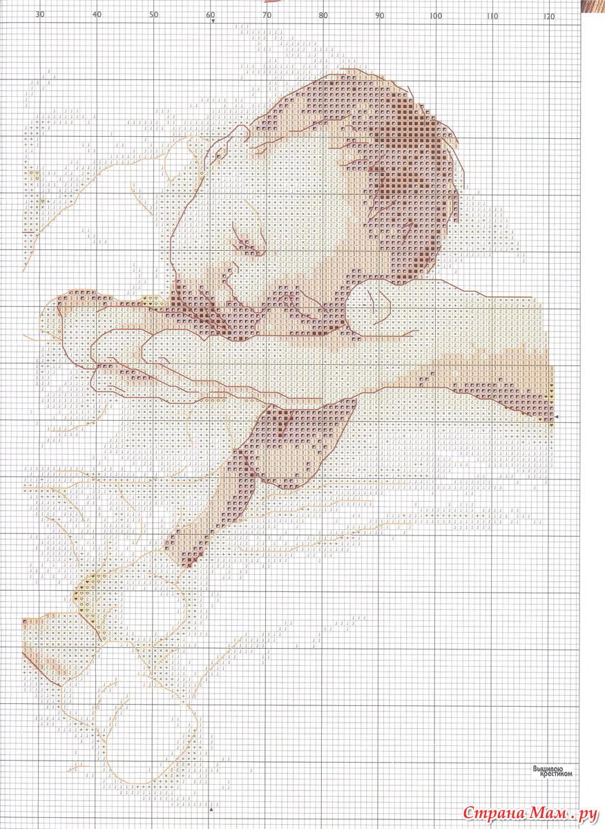 Вышивка крестом схемы новорожденные фото