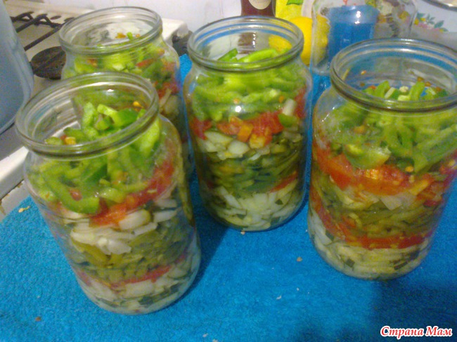 Консервированные салаты рецепты с фото