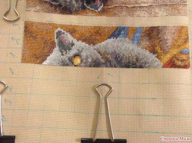 Вышивка крестиком кот макс 8