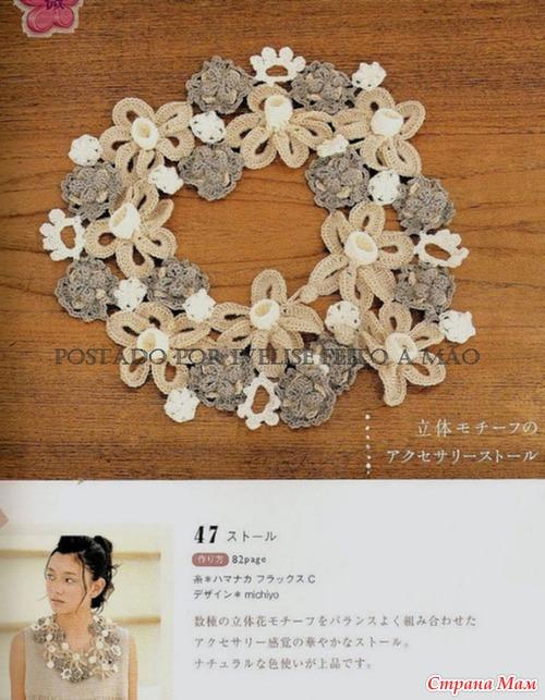 Предложенные вязаные ожерелья