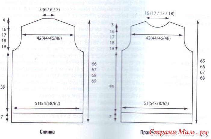 Вязание на спицах размер 54 56 82