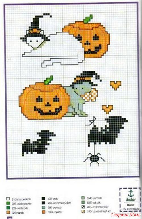 Halloween - Вышивка и все о