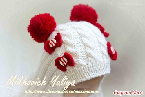Шапочка-шлем для прохладной осени и весны