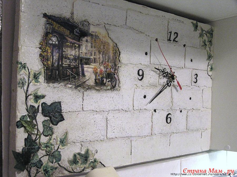 Декупаж стены своими руками фото 13