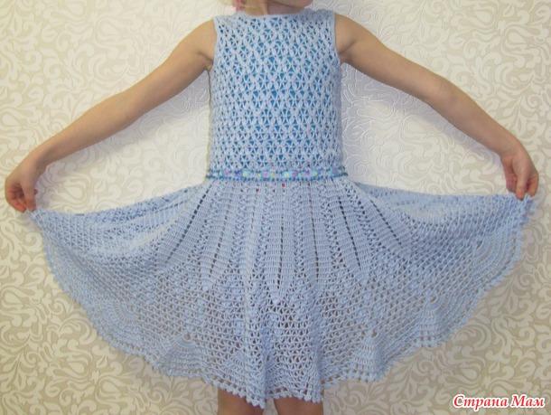 Легкий бриз - платье для племяшки