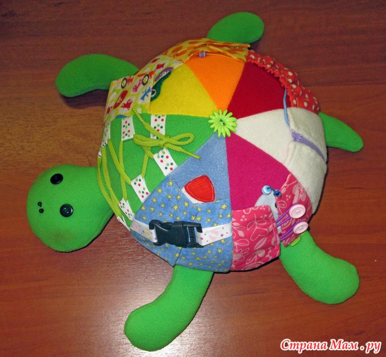 Игрушка черепахи своими руками 809