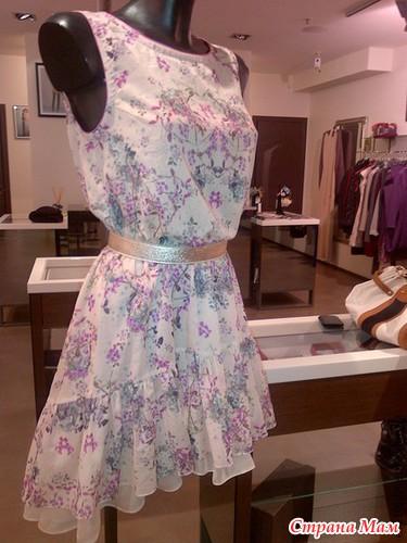 Платье из ситца сшить своими руками