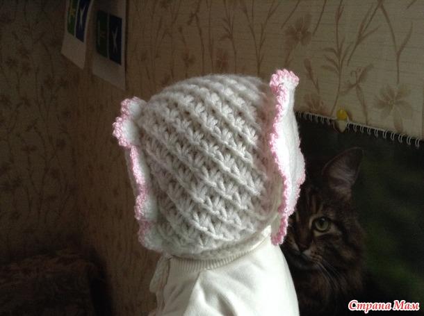 Как вязать шапочку для новорожденного