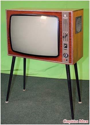 """цветной телевизор """"Радуга"""""""