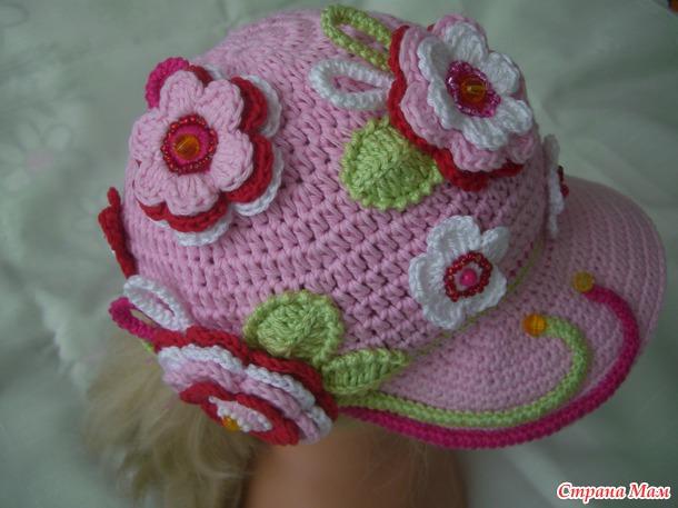 МК кепочки для девочек