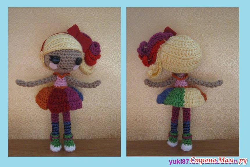 Кукла лалалупси схема вязания 58