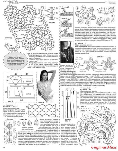 Модное рукоделие ру.модели и схемы для вязания
