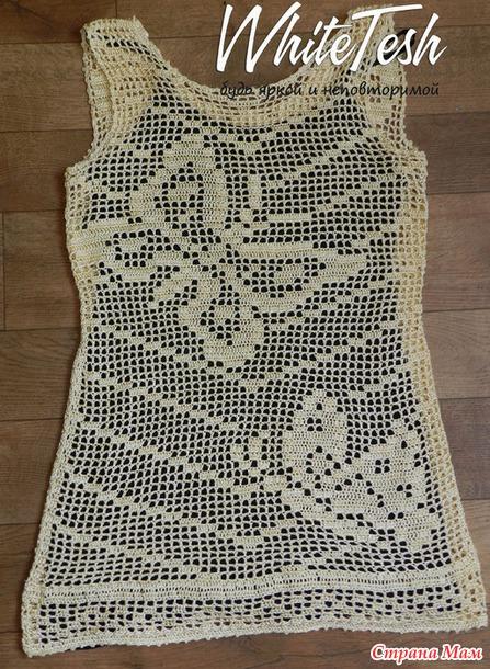 Туника с бабочками или короткое платье
