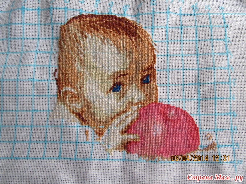 Малыш с яблоком или метрика