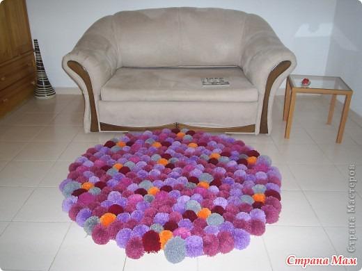 Как сделать прикроватные коврики