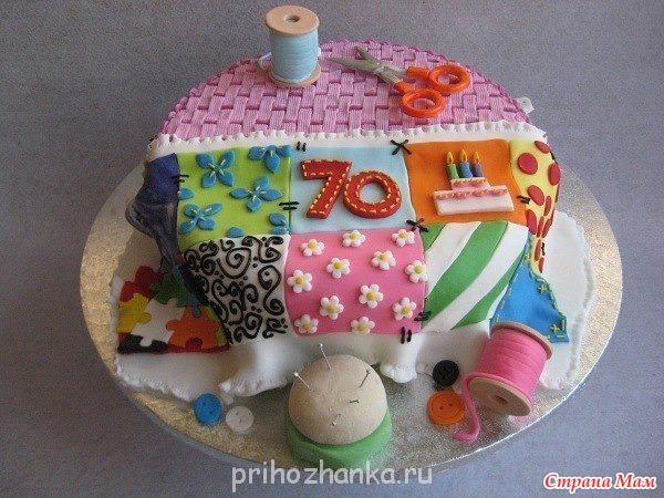 Торт для бабушки мастер-класс