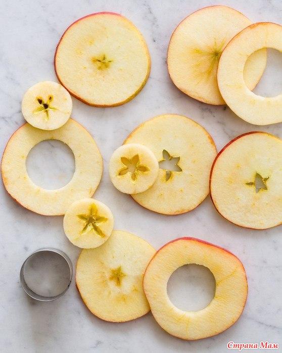 Яблочные кольца рецепт фото