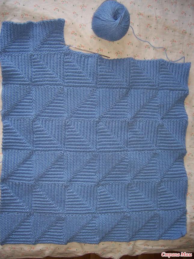 Вязание пэчворк юбки