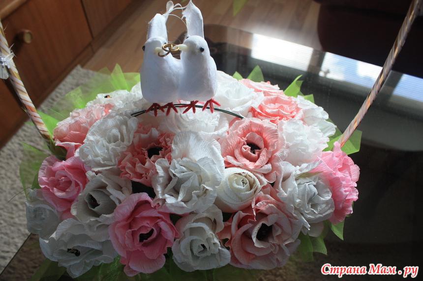 Букет с конфет на свадьбу заказ цветов киров 43