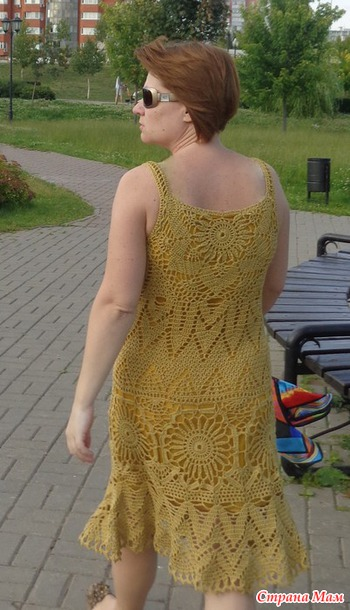 Солнечная горчица - сарафан.