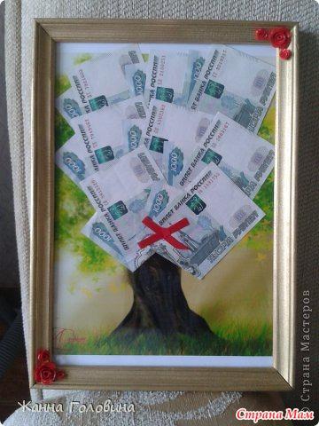 В чем подарить деньги на свадьбу своими руками