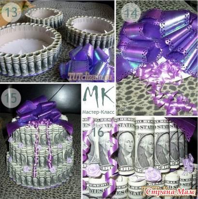 Как подарить оригинально деньги на день рождения мужчине