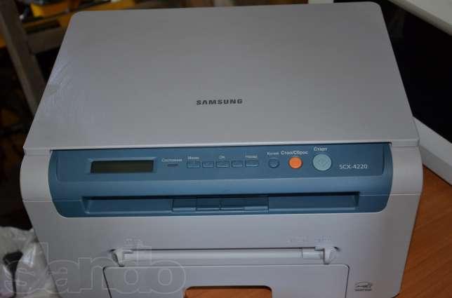 Драйвер scx-4220 сканер.