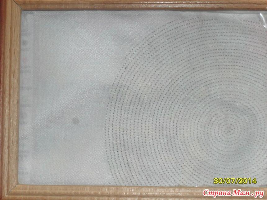 круговая техника вышивки