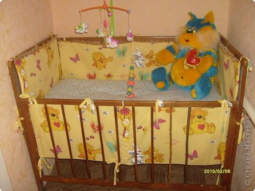 Обновить старую детскую кроватку