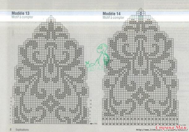 Фото и схемы филейного вязания крючком схемы