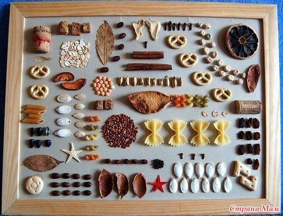 Панно своими руками для кухни с кофе