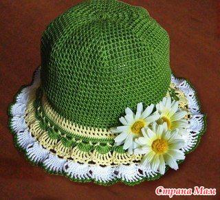 Сарафанчик и шляпка для маленькой принцессы.