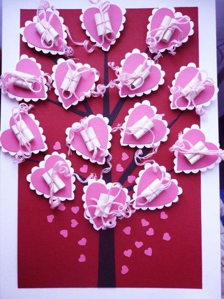 Поделки своими руками для дня святого валентина