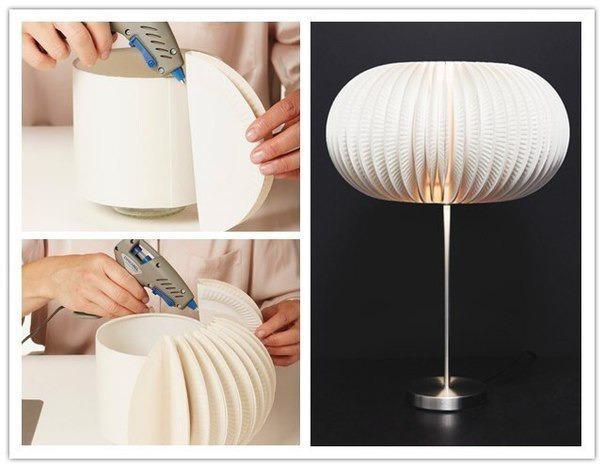 Плафон для светильника своими руками в домашних условиях