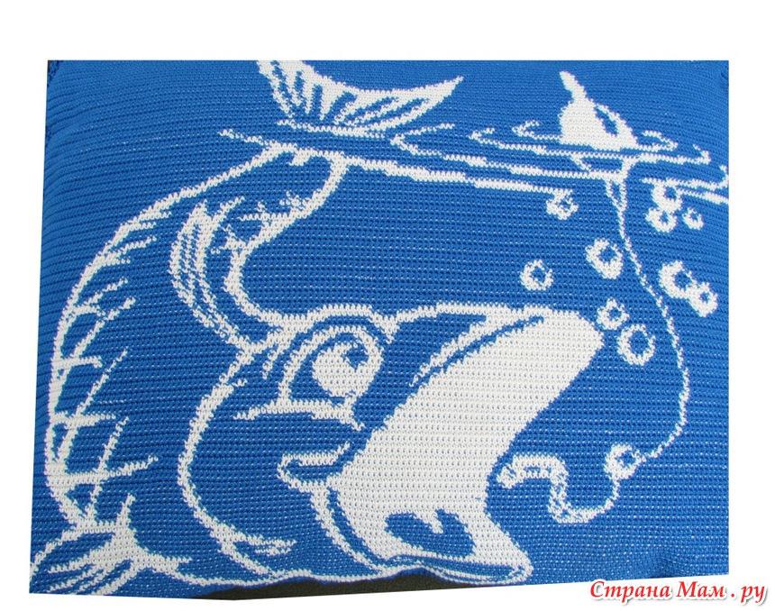 Подушка для рыбака (крючком)