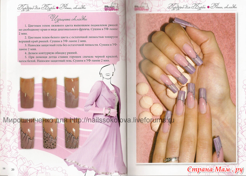 Екатерина мирошниченко дизайн ногтей книги